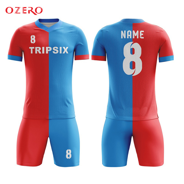 bd980ea75d9 Customize soccer jersey guangzhou china Adult football shirt comfortable  football training equipment breathable soccer uniforms