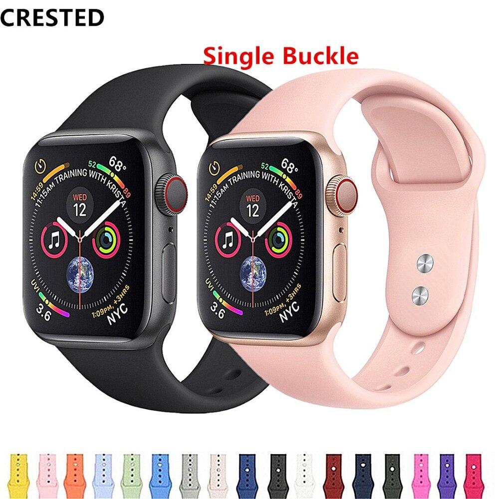 Хохлатый ремешок для apple watch band apple watch 4 3 iwatch band 42 мм 38 мм 44 мм/40 мм pulseira correa браслет аксессуары для часов 42