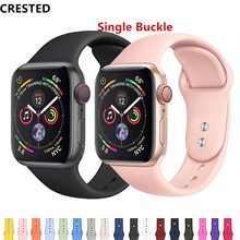 CRISTA Strap Para apple watch band apple watch 4 3 banda iwatch 42mm 38mm correa 44mm/40mm pulseira pulseira de relógio Acessórios 42(China)