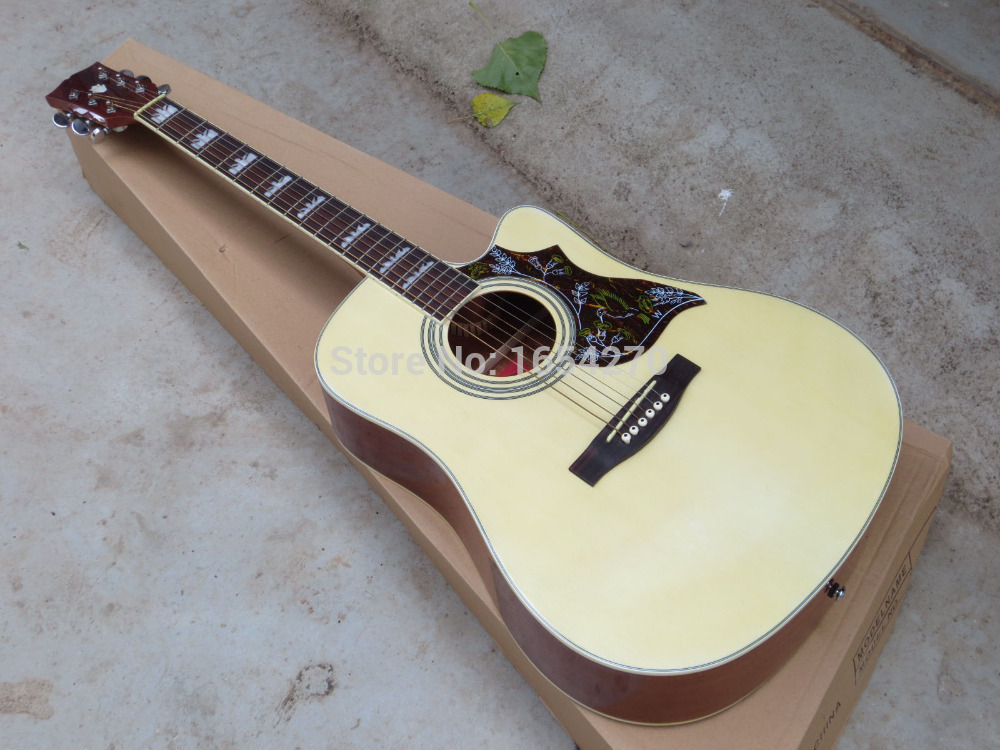 free shipping 2018 new acoustic guitar 41 inch folk guitar pure tone guitar accessories gifts. Black Bedroom Furniture Sets. Home Design Ideas