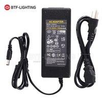 5โวลต์10Aนำแหล่งจ่ายไฟสำหรับWS2812B WS2811 LPD8806 WS2801 LED S TripแสงDC5Vจัดส่งฟร