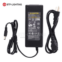 Free Shipping 5V 10A LED Power Supply For WS2812B WS2811 LPD8806 WS2801 LED Strip Light DC5V