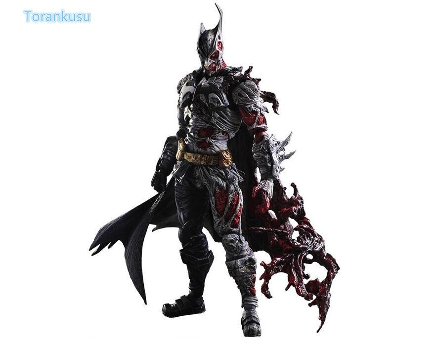 Batman Action Figure Play Arts Kai Two Face Batman PVC Figure Toy 270MM Anime Movie Bat