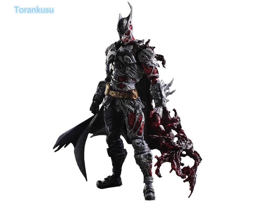 Batman Action Figure Play Arts Kai Two-Face Batman PVC Figure Toy 270MM Anime Movie Bat Man Rogues Gallery Playarts Kai PA29 gogues gallery two face batman figure batman play arts kai play art kai pvc action figure bat man bruce wayne 26cm doll toy