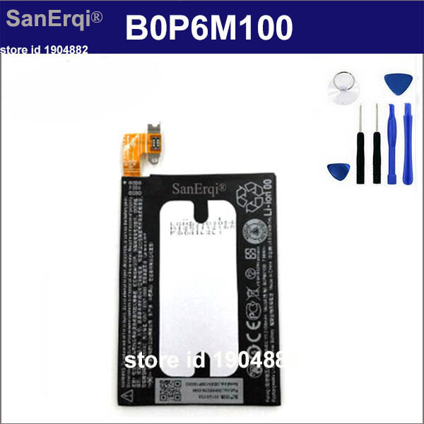 SanErqi B0P6M100 Battery for HTC one mini2 one mini 2 battery 2100mah Cellphone New Tested