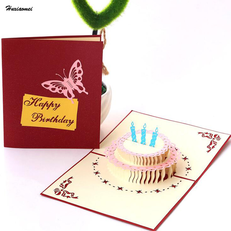Huxiaomei Paper Carving And Empty Model 3D Greeting Card ...