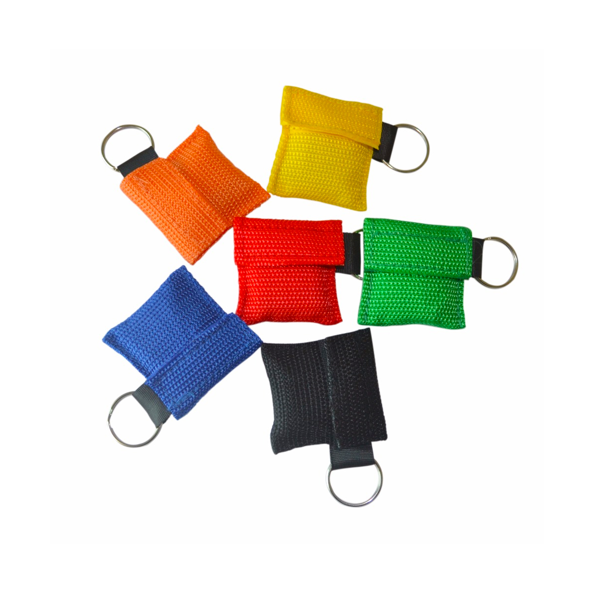 100 PCS lots NEW CPR MASK WITH KEYCHAIN CPR FACE SHIELD For Cpr AED 6 COLORS