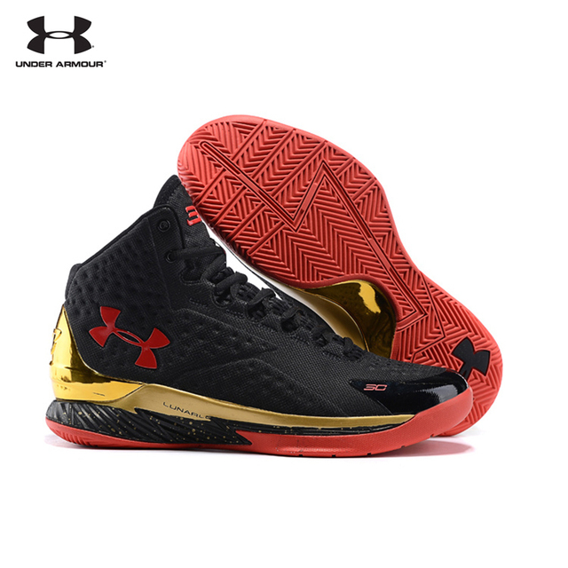 Hot Sale Under Armour UA The Curry V1 One Sport Breathable Basketball Shoes  For Male Outdoor