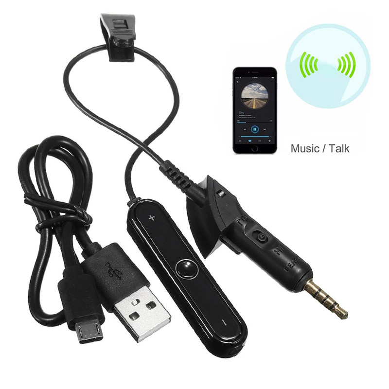 High Quality Bluetooth Wireless Adapter Cable Headband Bluetooth Converter Cable for Bose QuietComfort QC2 QC15