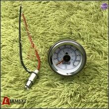 VIAIR Double pointer air gauge DUAL needles 0-220PSI white face barometer pneumatic suspension air ride air bag pressure
