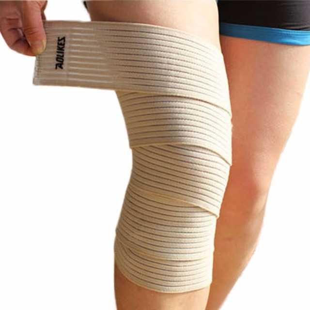 Unisex Elastic Support Wrap Compression Knee Protector