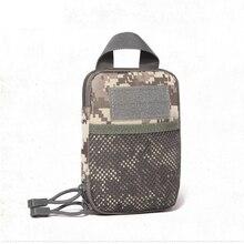 Multifunction Camouflage waterproof nurse belt waist bag outdoor sports Wear-resistant canvas phone money women men black Purse