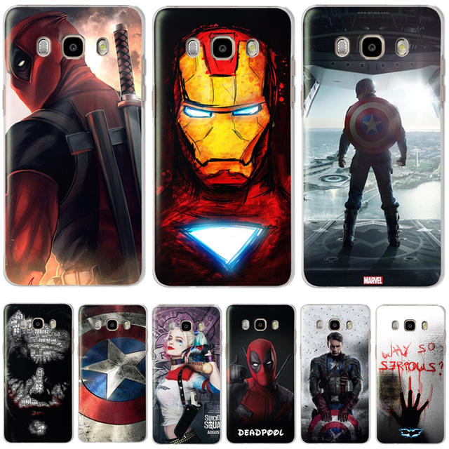 The Avengers  Case Cover For Samsung Galaxy J3 J5 J7 2016 2015