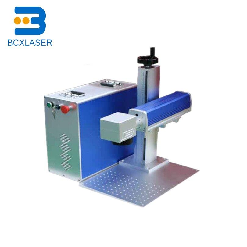 Machine de marquage Laser à Fiber optique en métal 20 W 30 W 50 W IPG Raycus CNC Mopa