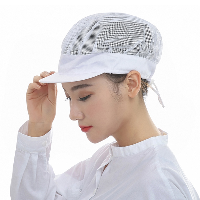 Kitchen Hats Ebay Cabinets Aliexpress Com Buy Summer Restaurant Accessories Catering Hat Food Service Hospital Cleaner Mesh Working Cap From Reliable