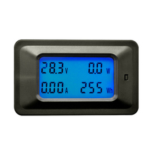 Dc 8-100V 0-100A Lcd Digital Display Ammeter Voltmeter Multimeter Volt Watt Power Energy Meterwith 100A Shunt