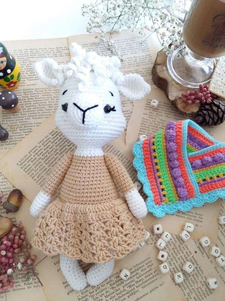 Amigurumi Şeker Kız Yapılışı-Amigurumi Free Pattern Candy Doll | 960x720