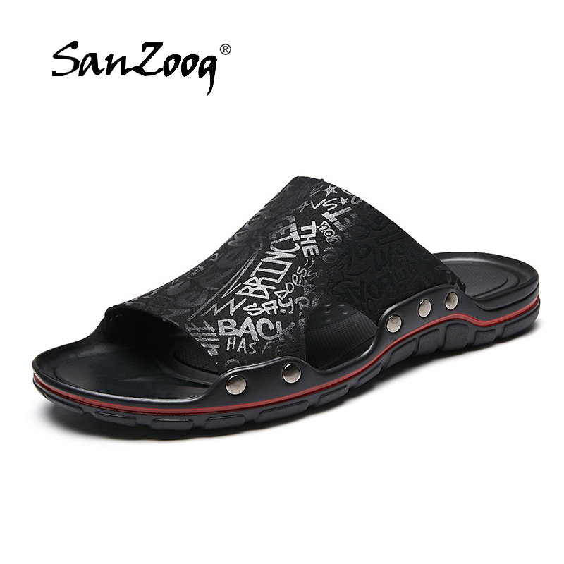 2019 Microfiber Leather Slippers…