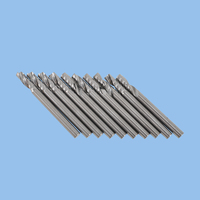 10pcs/lot 6MM One Flute End Mill CNC Milling Cutter Carbide Single Flute Spiral Cutters For Milling Motor Machine Engraver