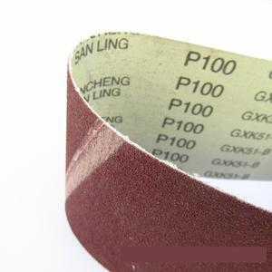 """Image 4 - 10 Stks 100*610mm Schuren Riem 4 """"* 24"""" schurende Band 100*610mm Aluminium Oxide Voor Hout (Grit 36 40 60 80 100 120 180 240 320 400)"""