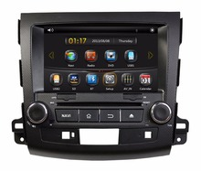 HD 2 din 8″ Car DVD GPS for Mitsubishi Outlander 2006 2007 2008 2009 2010 2011 2012 With Bluetooth IPOD TV Radio /RDS AUX IN USB