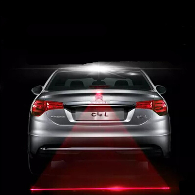 Car Styling Tail Laser Fog Lamp Safety Warning Lights For Ford Focus Fusion Kuga Ecosport Fiesta Falcon Mondeo Everest Ti