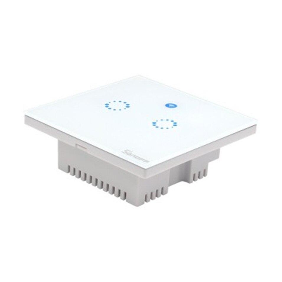 Sonoff T1 Smart WiFi RF/APP/Touch Control Wand Licht Schalter 1/2/3 ...