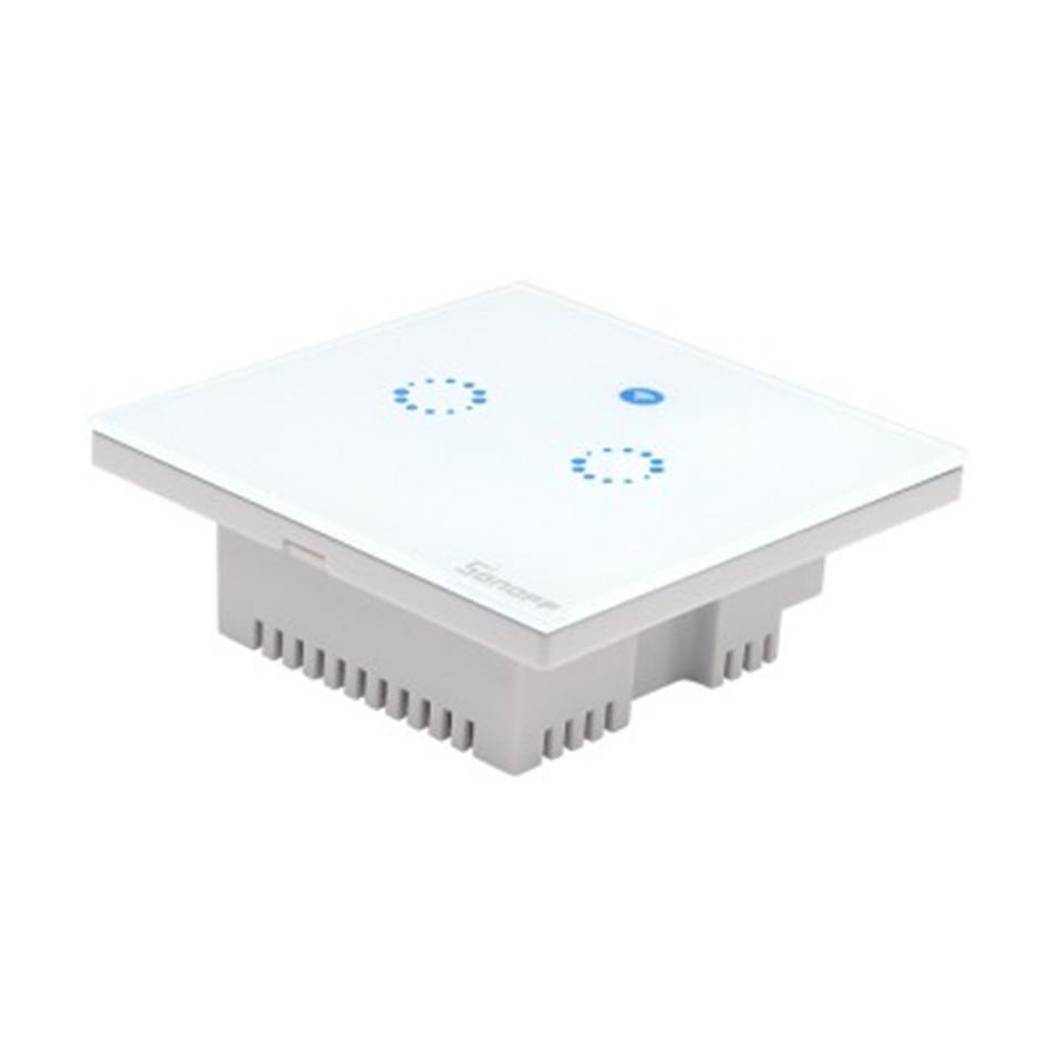 Sonoff T1 Smart WiFi RF/APP/Touch Control Wand Lichtschalter 1/2/3 ...
