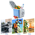Multi-Function Portable 12V 7.5L Auto Car Mini Fridge Travel Refrigerator ABS  Home Cooler Freezer Warmer