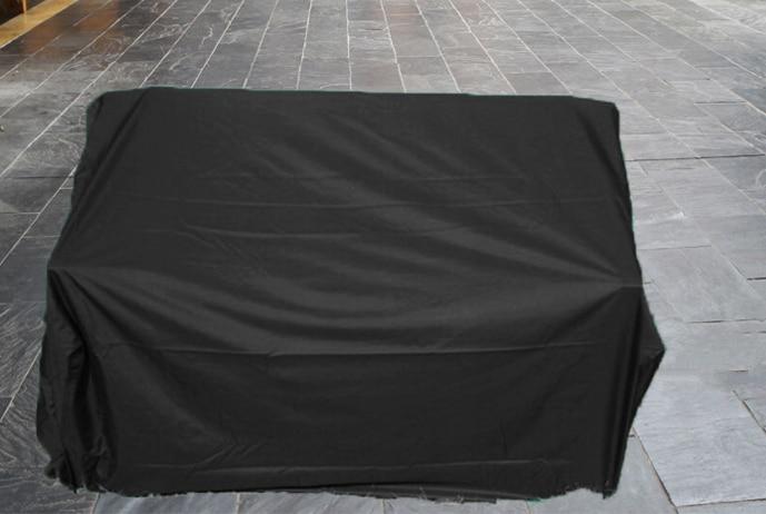 Couverture up 195cm banc protecteur couverture, 195x75x65/100 cm ...