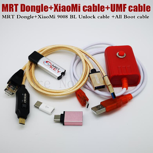 Image 4 - 2020 Newest MRT KEY 2 Dongle + for Xiao Mi EDL cable +UMF ALL Boot cable set (EASY SWITCHING) & Micro USB To Type C Adapt