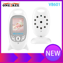 Onetree VB601 Wireless Baby Monitor Infant 2.4GHz Digital Video Baby Temperature Display Night Vision Music Nanny Monitor(China)
