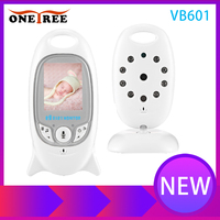Onetree VB601 Wireless Baby Monitor Infant 2.4GHz Digital Video Baby Temperature Display Night Vision Music Nanny Monitor