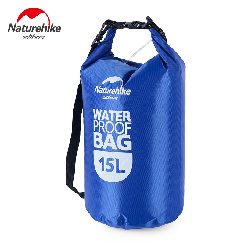 NatureHike 15L 25L Muitifunctional Durable Ultralight Outdoor Travel Rafting Camping Hiking Swimming Waterproof Bag Dry Bag