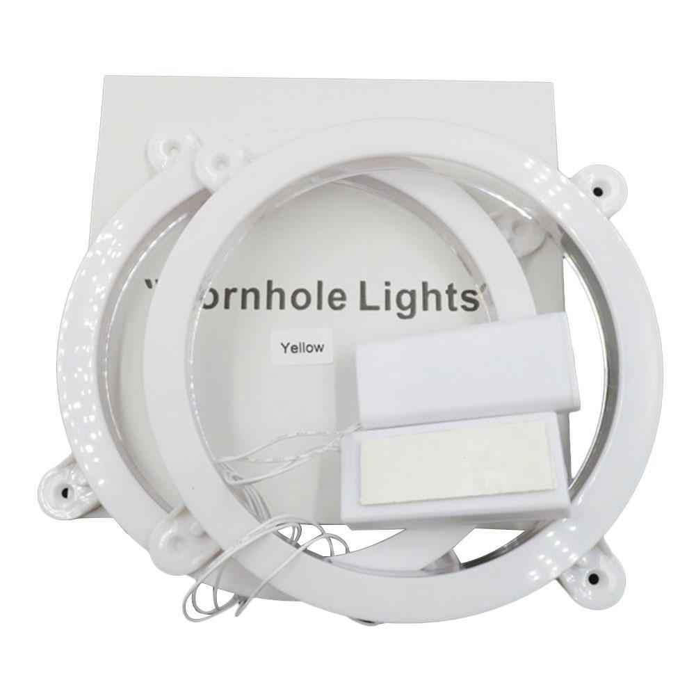 "Pack of 2pcs 6/"" LED Cornhole Light for Playing Family Cornhole Game at Night"