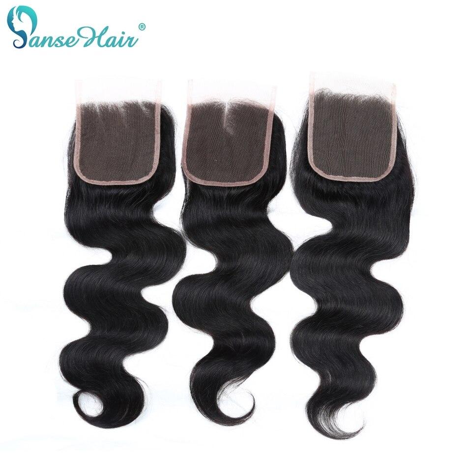 Panse Hair Peruvian Body Wave Mänskliga Hår Bundar Med En Snörning - Mänskligt hår (svart) - Foto 5