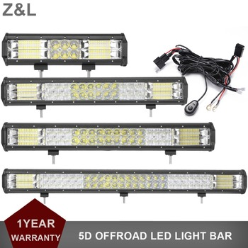 12 20 23 31 INCH OFFROAD LED WORK LIGHT BAR 12V 24V DRIVING INDICATOR CAR SUV TRUCK TRACTOR 4X4 4WD ATV TRAILER 4X4 EXTRA LAMP