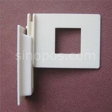 מדף תמיכת גלי קליפ, פופ פח אשפה בניית תערוכה גלי מציג לוח מדפים connecter סוגר פלסטיק