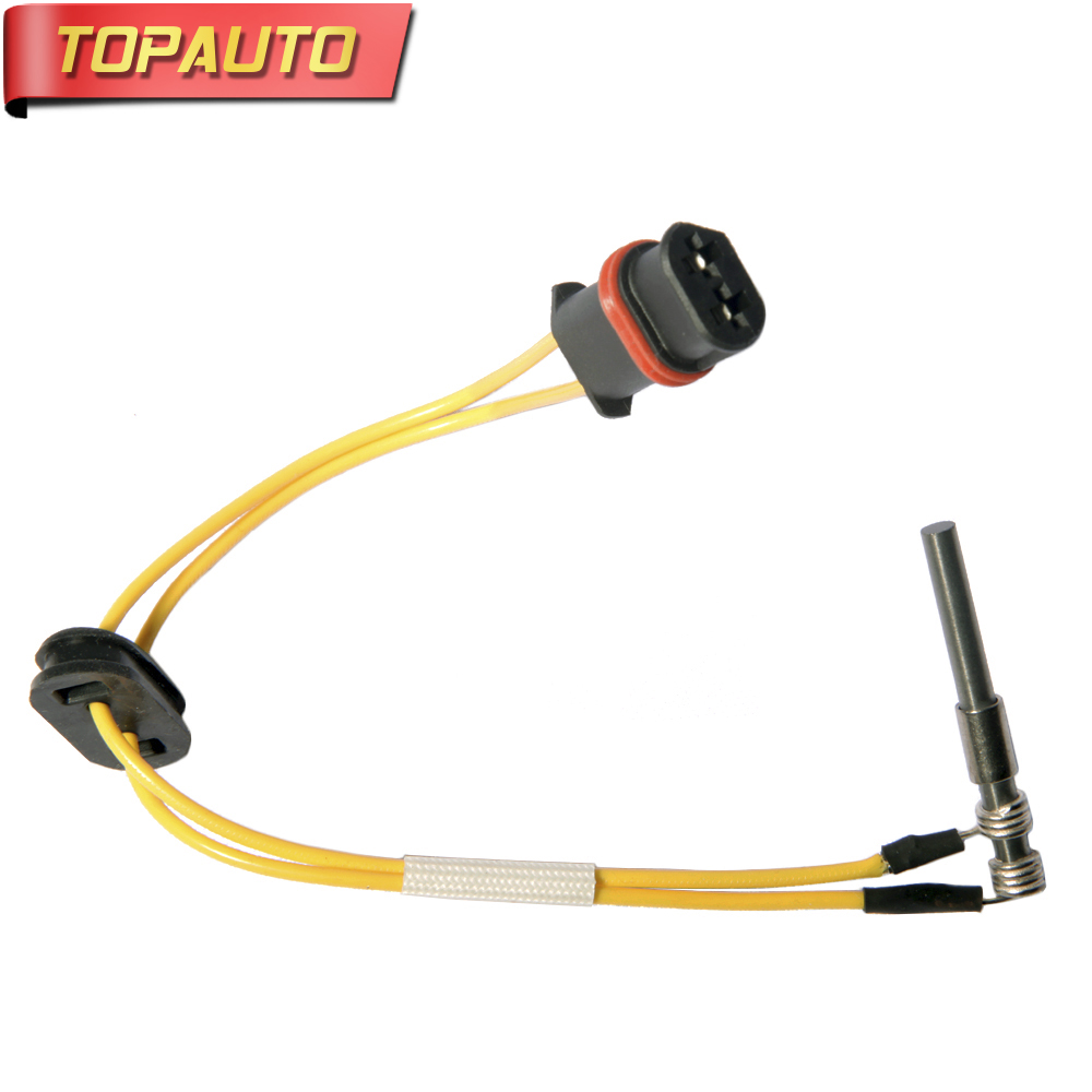 TopAuto 12V 24V Ceramic Pin Glow Plug For Webasto Air Top 5000W 12V 24V Diesel Parking Heater For Car Truck Boat Caravan 5kw air parking heater control assembly for general diesel truck boat motorhome for webasto snugger diesel heater 12v 24v