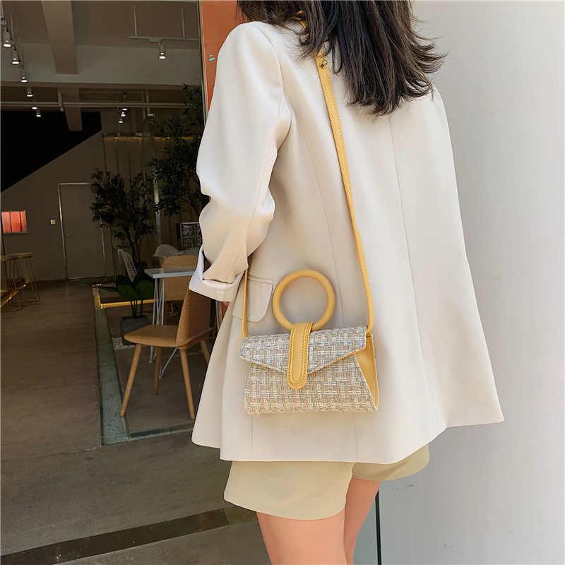 ยี่ห้อ Originality ออกแบบใหม่กระเป๋าถือผู้หญิง 2019 หญิงหนังกระเป๋าถือมือถือขนาดเล็กกระเป๋า Lady กระเป๋าสบายๆ