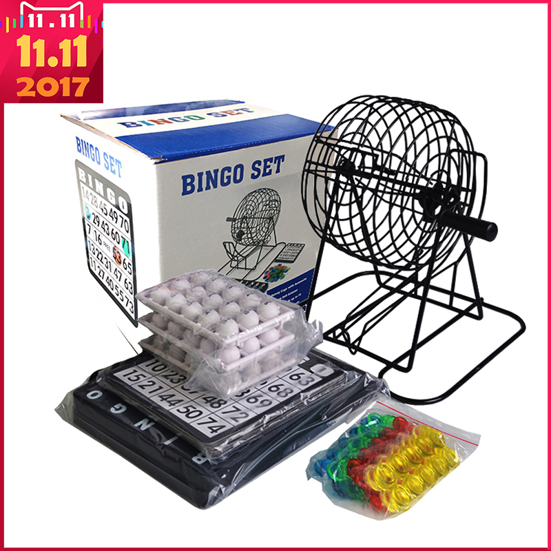 11.11 Shopping Festival! 01-75 Balls - Lottery Machine Draw Machine Party Bingo Game Lucky Balls Game lucky john croco spoon big game mission 24гр 004