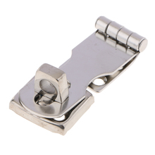 Marine 304 Stainless Steel Cabinet Door Swivel Safety Clasp Latch Hasp Durable Boat Parts Accessories