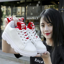 цены 2018 new spring and autumn breathable women's shoes thick bottom shoes Sneakers muffin women's increased casual movement shoes