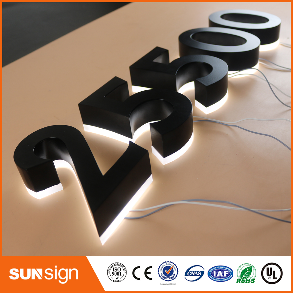 0 Letters Signs