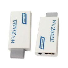 Wii to HDMI Adapter Converter Support FullHD 720P 1080P 3.5mm Audio Wii2HDMI Adapter for HDTV цена и фото