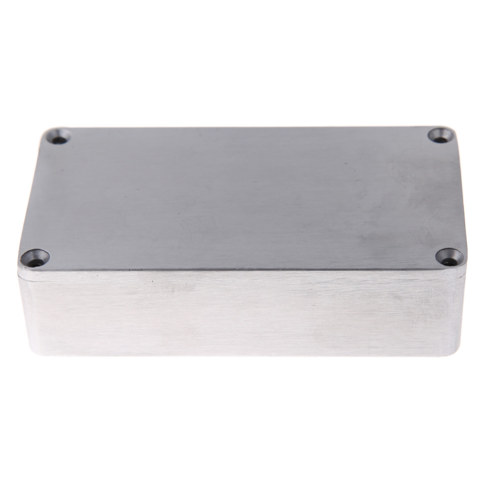 New Promotion1590B Style Effects Pedal Aluminum Stomp Box Enclosure for Guitar Instrument Cases Storage Holder High Quality парка b style b style bs002ewxwm49