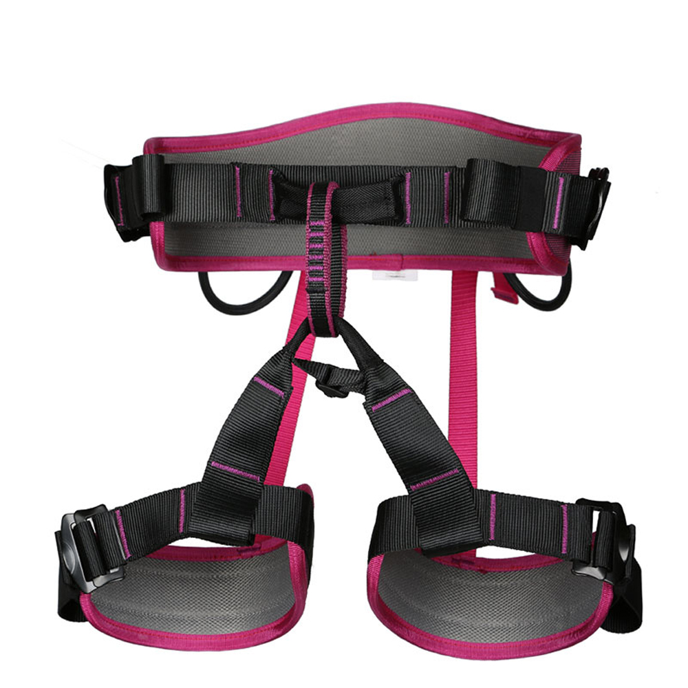 Image 5 - XINDA Camping Safety Belt Rock Climbing Outdoor Expand Training Half Body Harness Protective Supplies Survival Equipment-in Climbing Accessories from Sports & Entertainment