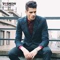 Viishow Brand mens Blazer Slim Fit Jacket Suits Masculine Blazer Coat Single Breasted blazers Men camoufalge Suit jacket