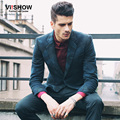 Viishow Marca mens Blazer Slim Fit Jaqueta Ternos Masculino Blazer Casaco paletó Único Breasted blazers Homens camoufalge