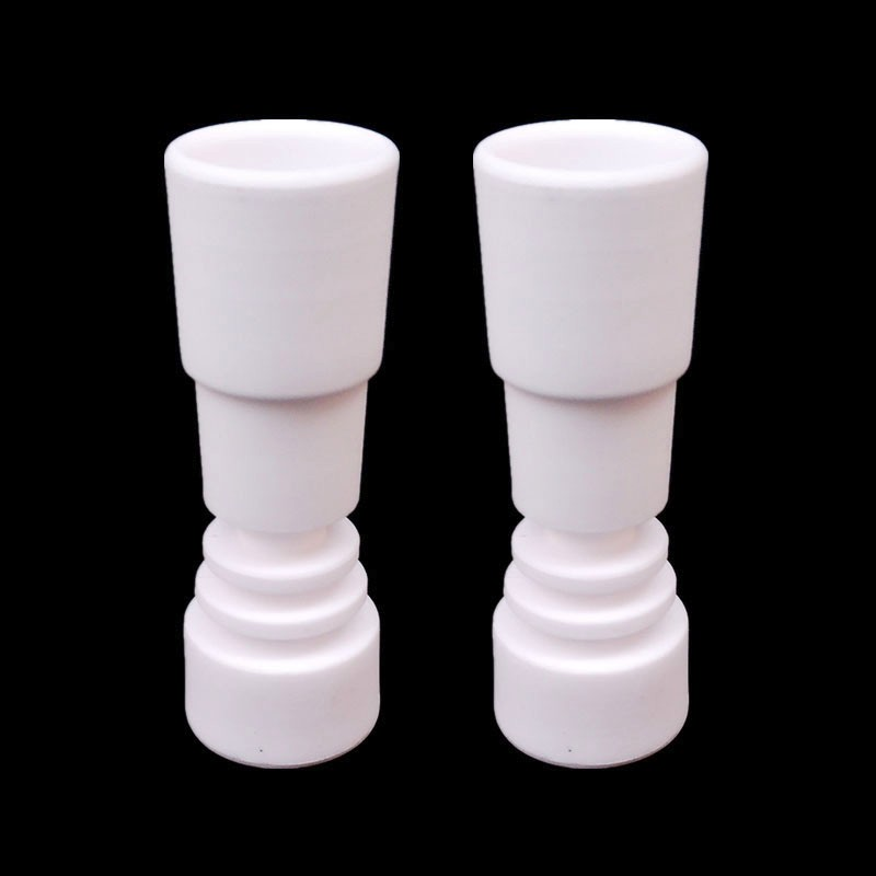 1set Ceramic Carb Cap 14mm 19mm female Joint Ceramic Nail Dabber Tool Silicone Container Hookahs Tool Set in Tobacco Pipes Accessories from Home Garden